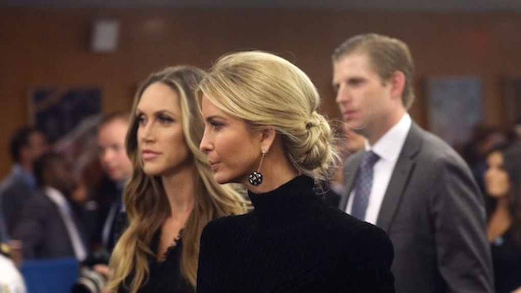 Image result for Ivanka Trump forced to defend father at G20 women's summit