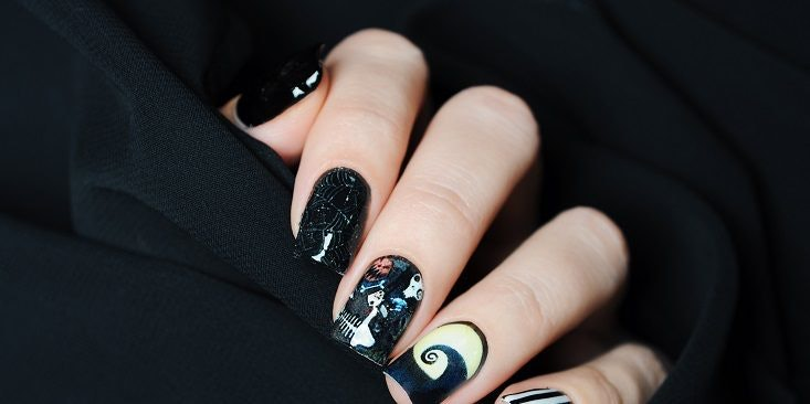 7 Halloween Nail Designs Perfect For Your Black Dress Costume