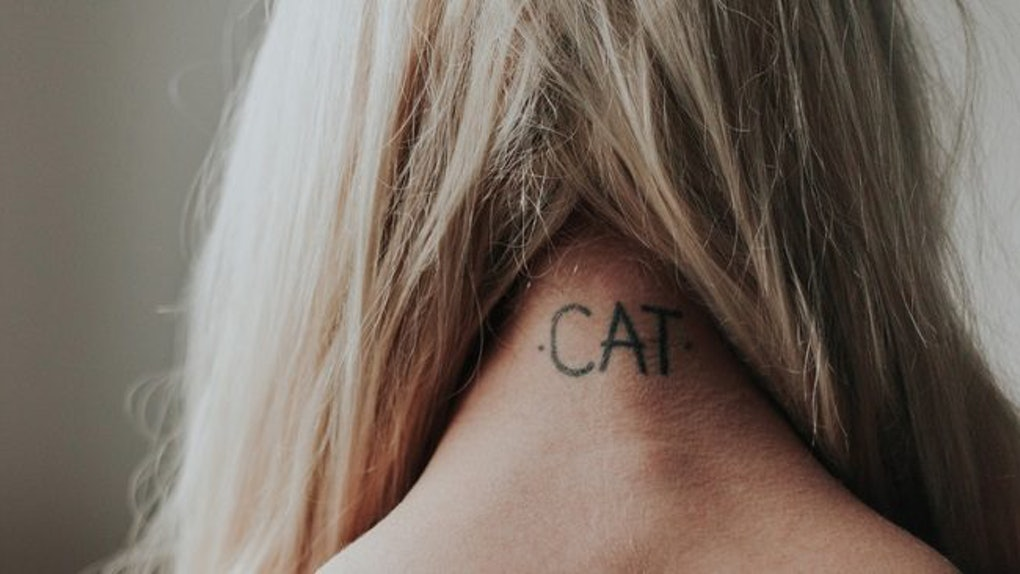 9 Cat Tattoo Ideas For The Sisters Who Are Obsessed With Their