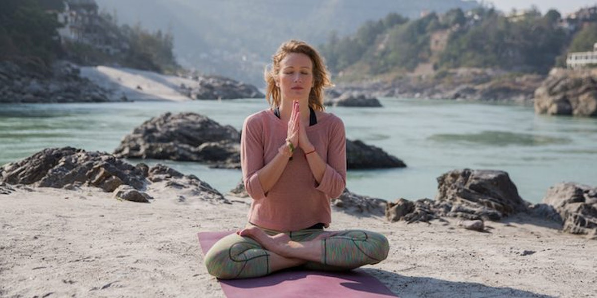 How To Breathe Through Stress By Using What You've Learned In Yoga