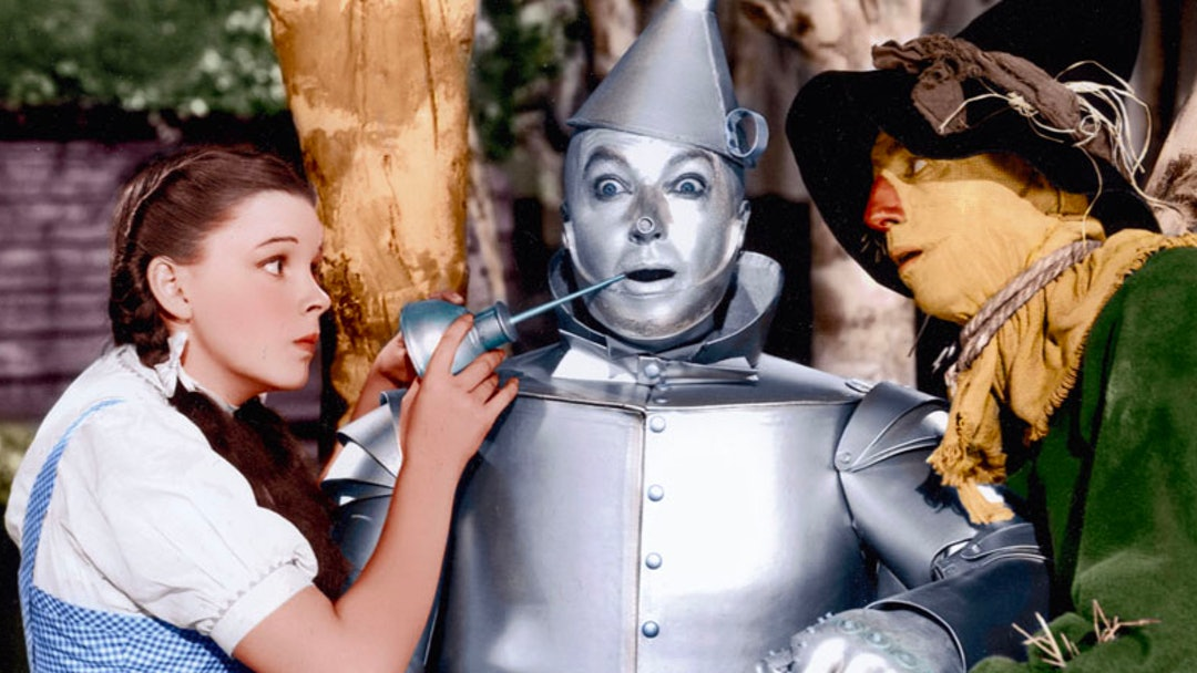 Image result for wizard of oz tin man oil picture