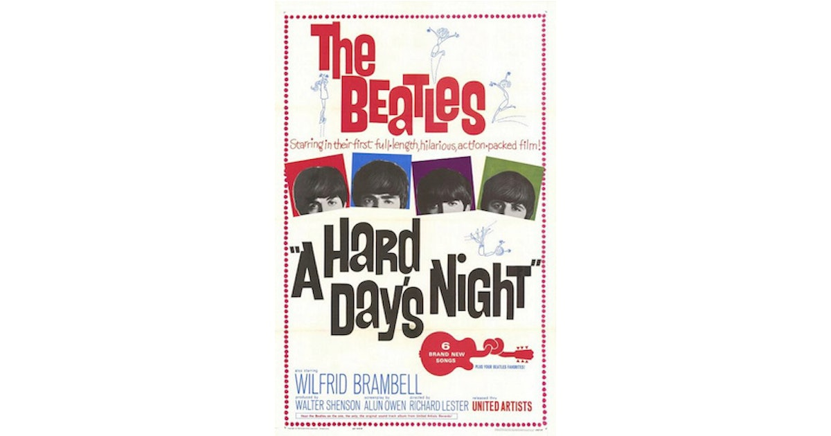 25 Things You Didn't Know About 'A Hard Day's Night'