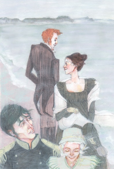 """Beautiful Illustrations From a New Edition of Austen's """"Persuasion"""""""