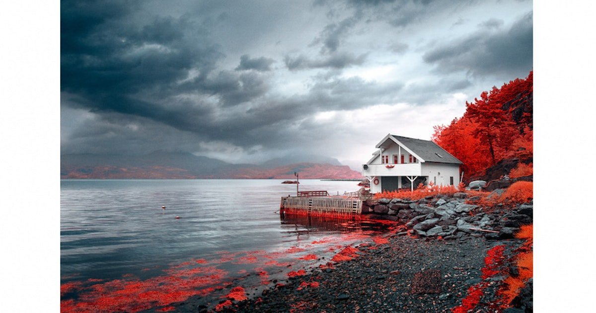 Stunning Images Recreate Old-School Infrared Photography