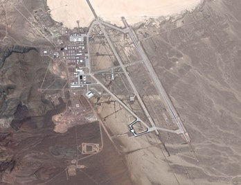 Area 51 from above.