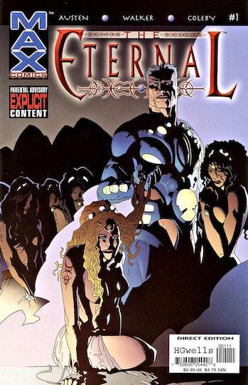 The Eternal Marvel Max Chuck Austen