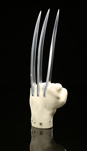 Wolverine's Adamantium claws from 'X-Men Origins: Wolverine'