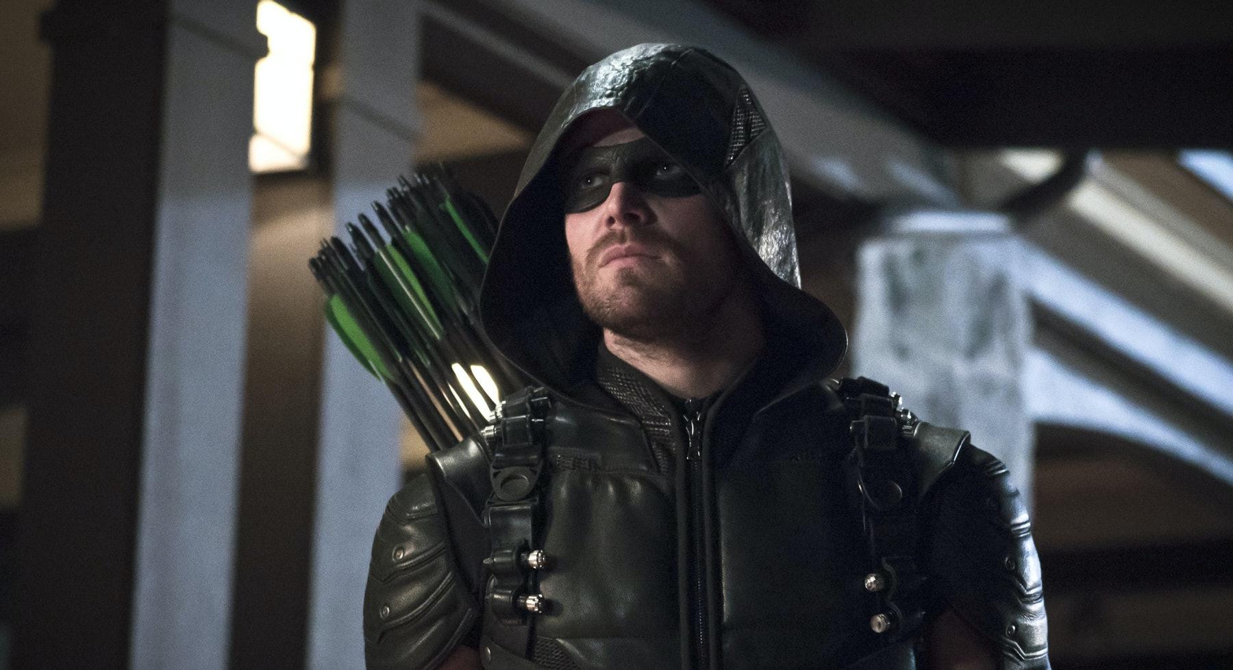 Stephen Amell as Green Arrow on 'Arrow'.