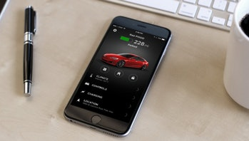 tesla mobile app android