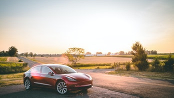 A Tesla Model 3.
