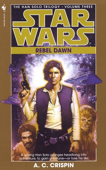 Rebel Dawn is the first 'Star Wars' Expanded Universe novel to depict the Kessel Run.