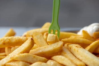 processed foods fries