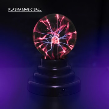 3 Inch Magical Plasma Ball Light Electric Globe Finger Touch Glow