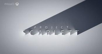 microsfot e3 xbox scarlett announcement