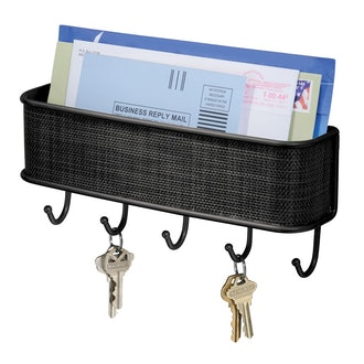 InterDesign Twillo Mail and Key Holder