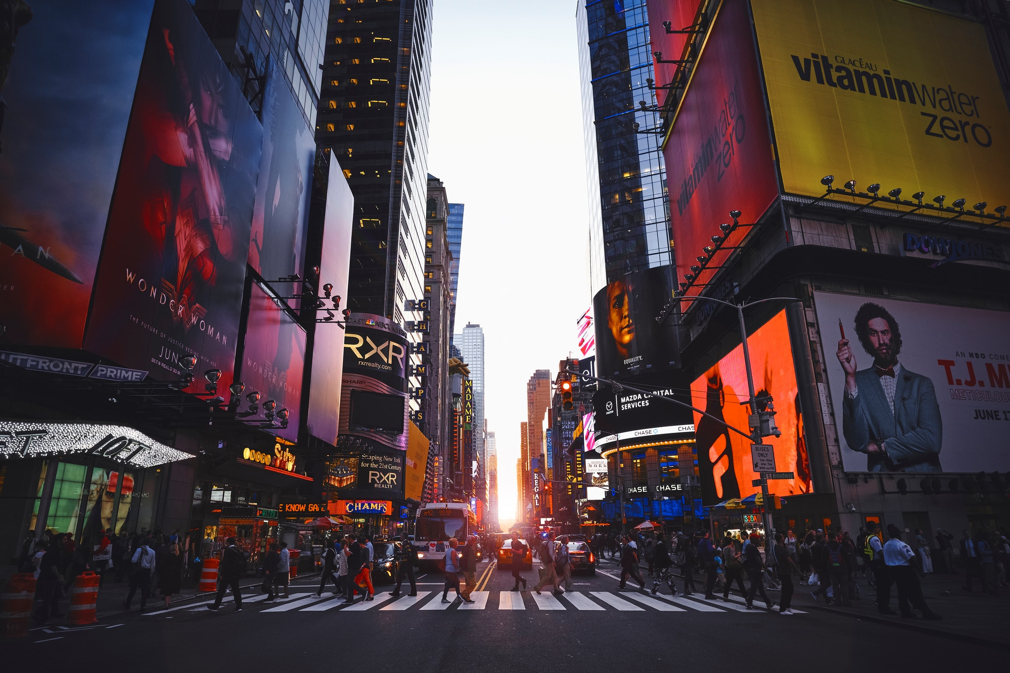 Times Square: soon-to-be net zero?
