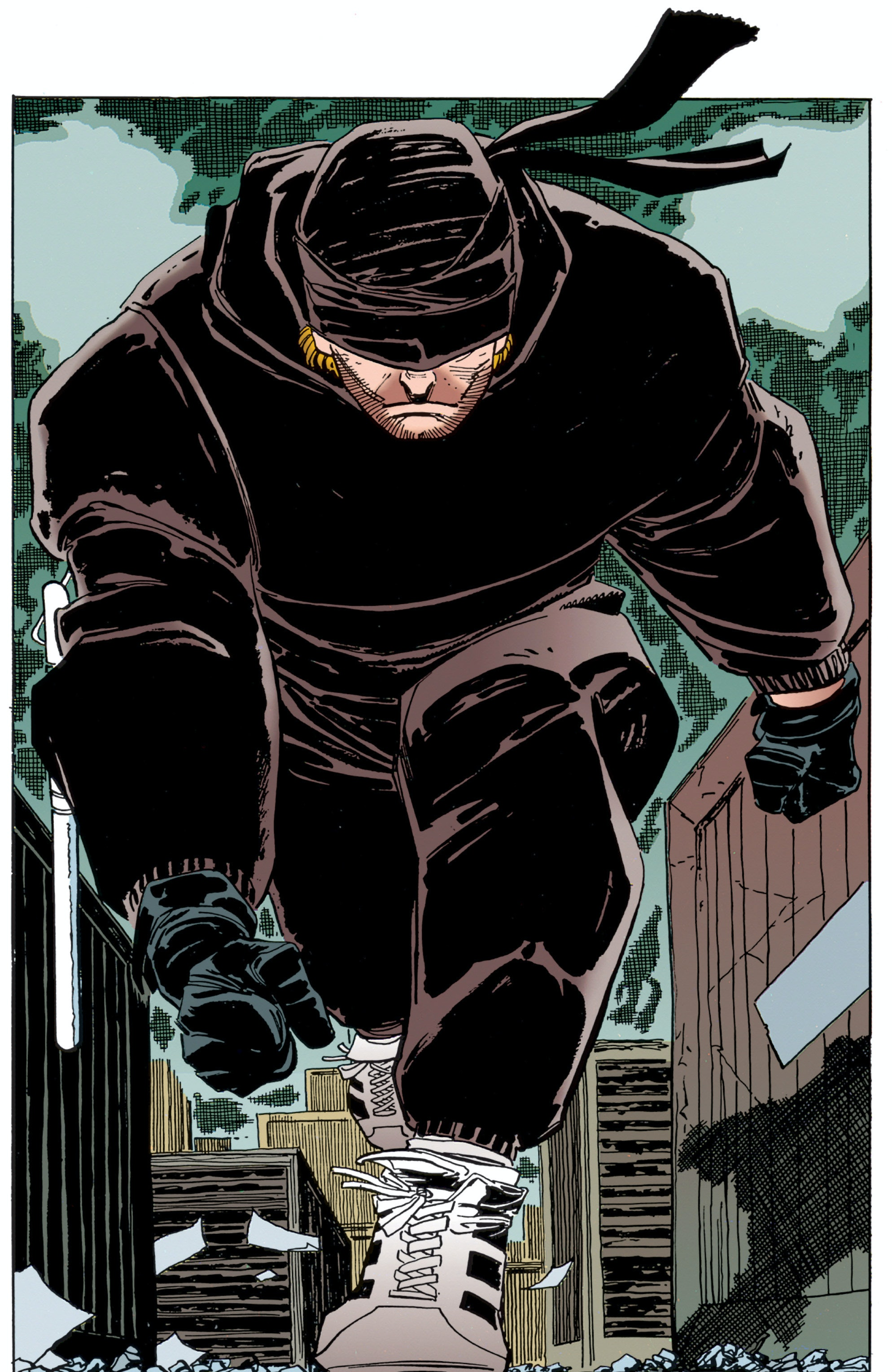 Daredevil Black Costume Man Without Fear