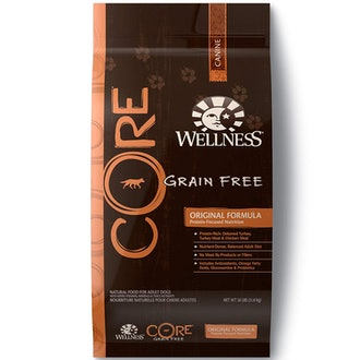Wellness Core Natural Grain Free Dry Dog Food Original Turkey & Chicken