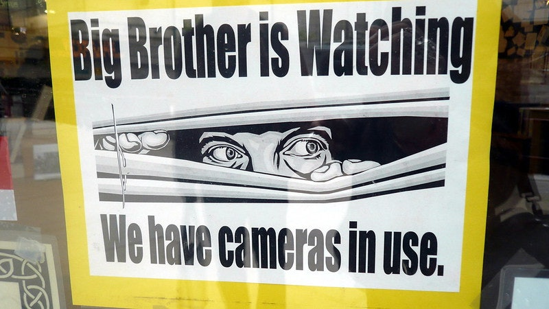 big brother 1984 surveillance
