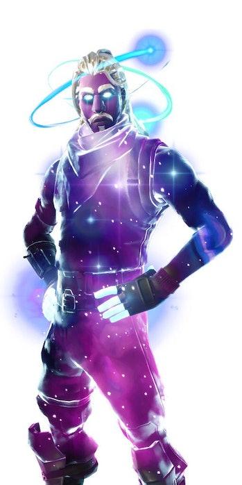 'Fortnite' Galaxy Skin
