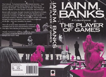 The book jacket for 'The Player of Games'