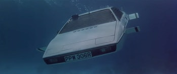 Tesla Submarine Car