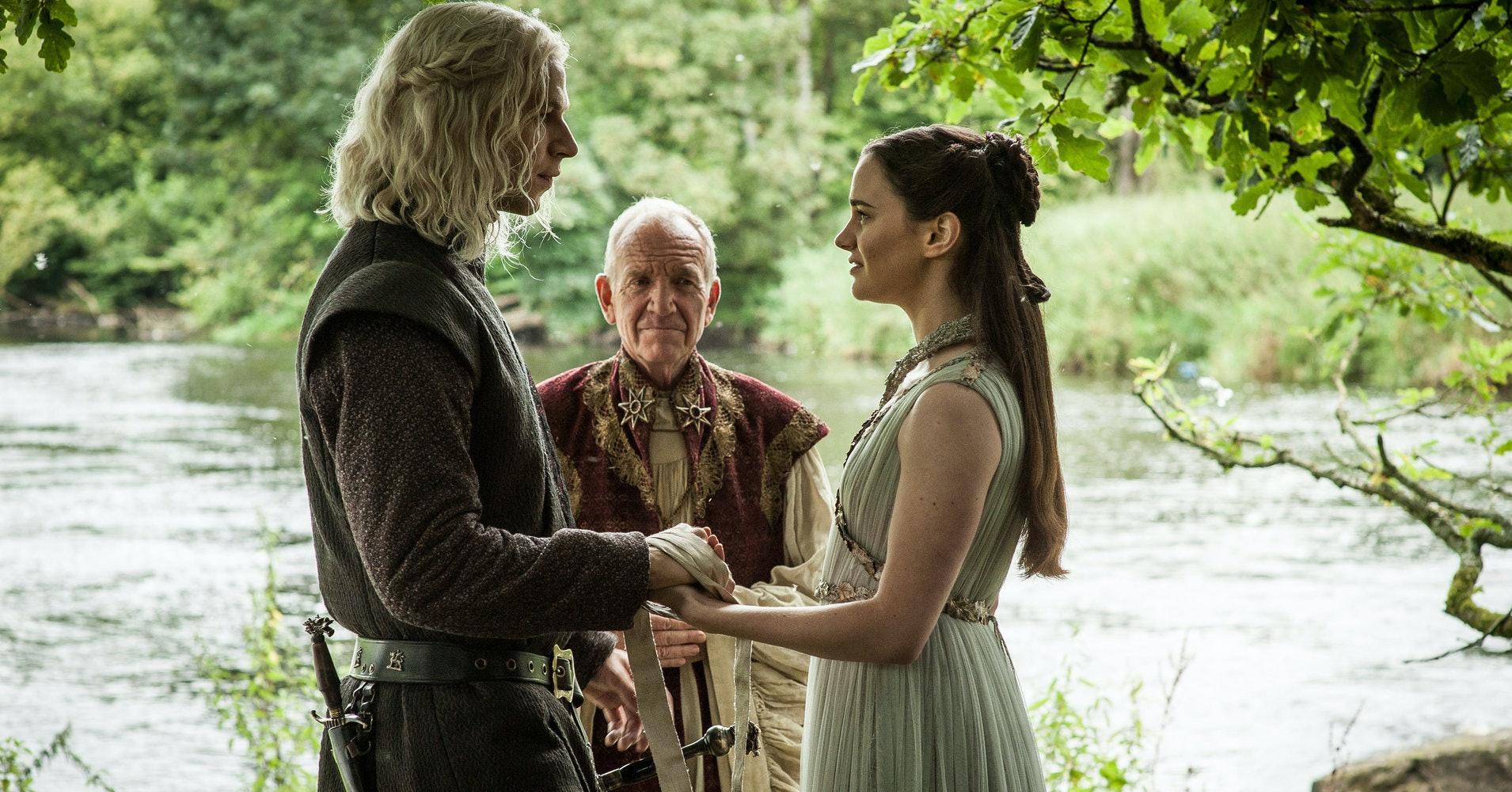 Game of Thrones Rhaegar and Lyanna Wedding