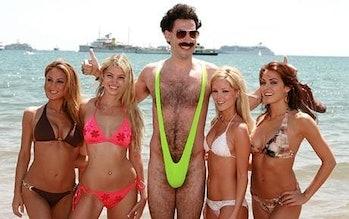 Borat mankini banana hammock