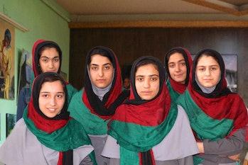 afghanistan all girl robotics team travel ban