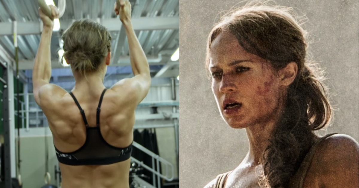 Watch Alicia Vikander Become Lara Croft in new Tomb Raider