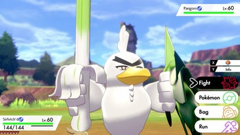 pokemon sword and shield sirfetch'd