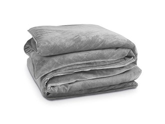 Bibb Home 12 Lb Weighted Blanket & Mink Cover