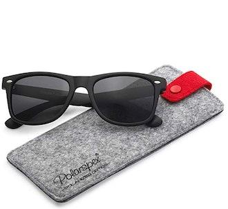 Polarspex Polarized 80's Retro Classic Unisex Sunglasses