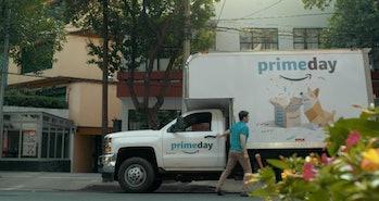 Amazon Prime Day Truck