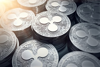 Ripple XRP tokens cryptocurrency
