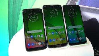 moto g7 smartphones