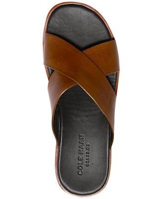 Cole Haan Men's Goldwyn Criss-Cross Sandals