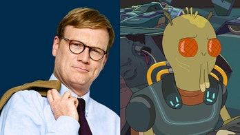 Andy Daly isKrombopulos Michael, delightful assassin for hire.