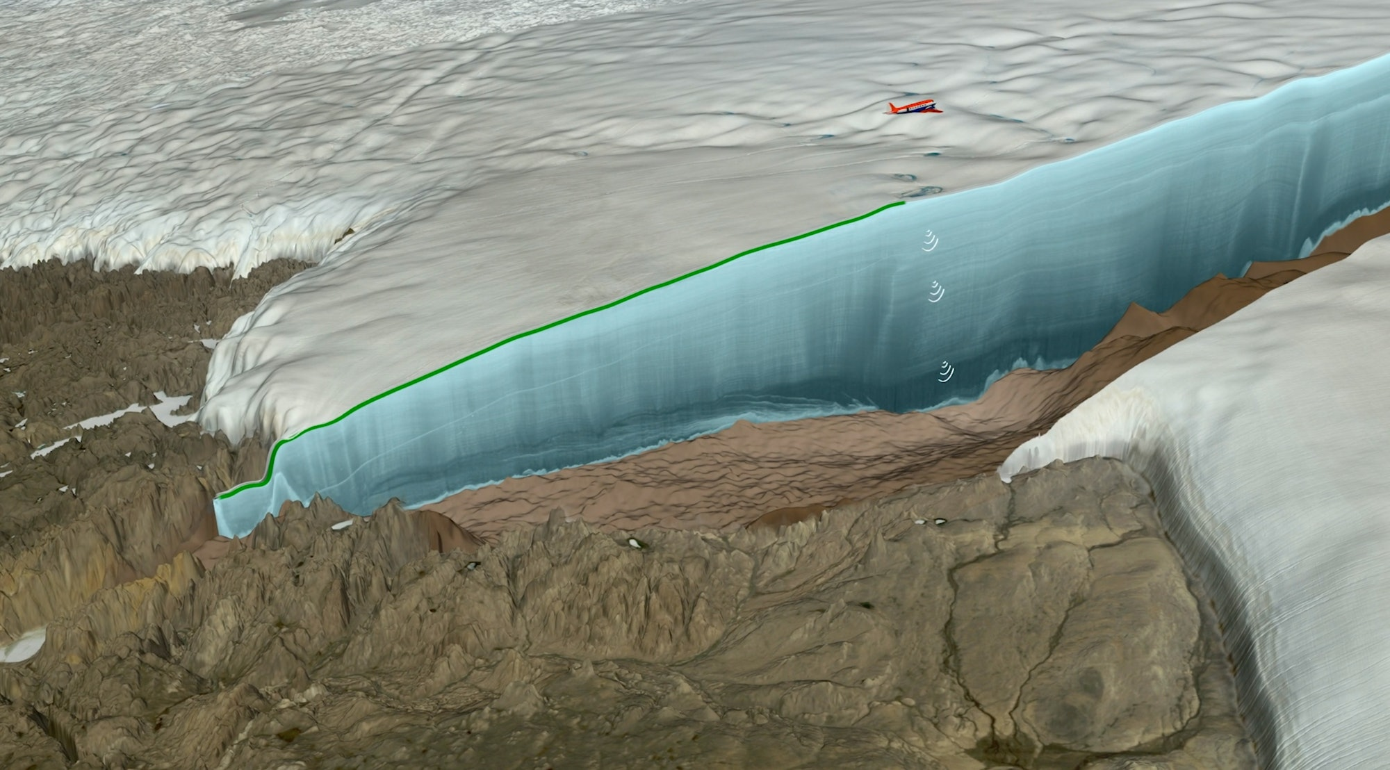 crater ice