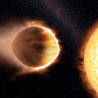 Boiling Exoplanet WASP-121b Is Warped Into the Shape of a Football