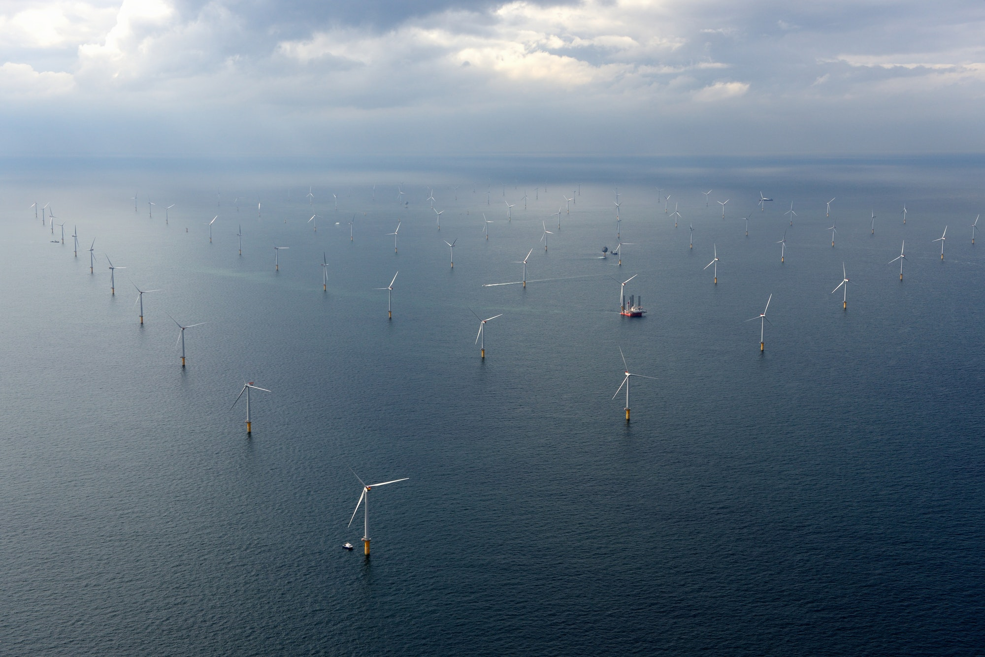 World's largest offshore wind farm.
