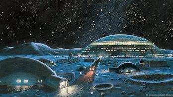 moon colony