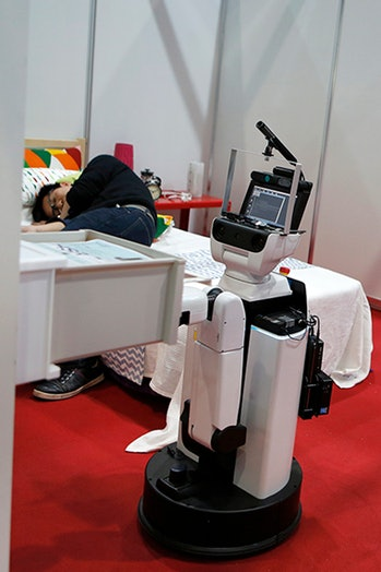 robocup robocup@home domestic standard league robot toyota hsr human support drawer