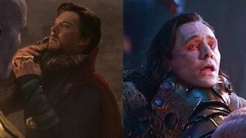 Thanos Doctor Strange Loki