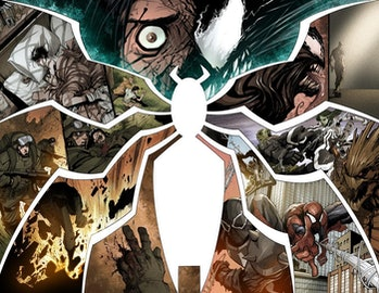 Panel from Marvel Comics Venom #1