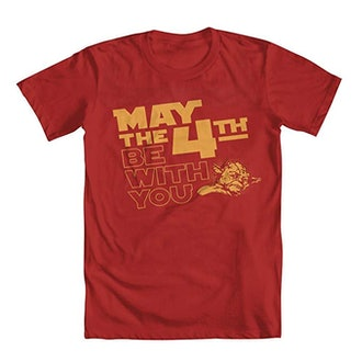 May the 4th Be With You Yoda Shirt (available in blue, green, red, or black)