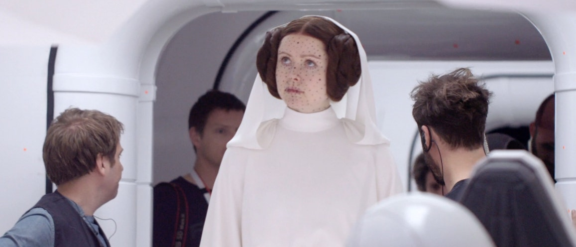 Rogue One Princess Leia Young