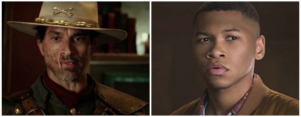 "Jonah Hex and Jefferson ""Jax"" Jackson on 'Legends of Tomorrow'"