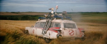 Ghostbusters Afterlife trailer Ecto-1