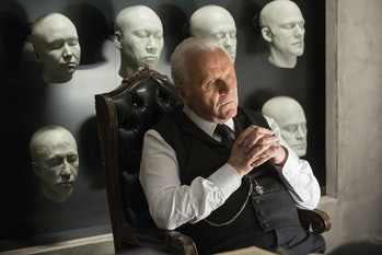 Anthony Hopkins as Dr. Robert Ford on 'Westworld'